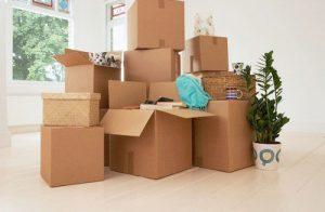 Đếm và kiểm tra thùng đồ khi chuyển đi và chuyển đến