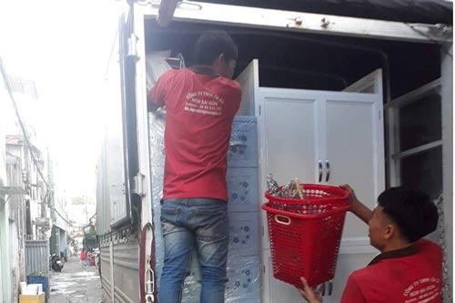 Dịch vụ chuyển nhà quận 12 của Sài Gòn Moving hỗ trợ chu đáo
