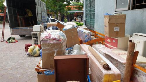 Phát sinh chi phí chuyển nhà khi nào vận chuyển thêm đồ